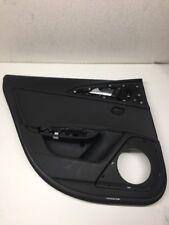 2014 13 14 15 AUDI S6 A6 C7 OEM REAR LEFT DOOR BLACK LEATHER INTERIOR TRIM PANEL