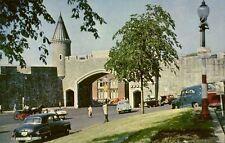 canada, PORTE St-JEAN, Quebec, St. John's Gate, Cars (1970s)