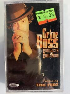 Crime Boss Conflicts & Confusion (Cassette) New Sealed