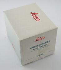 LEICA Macro-Elmarit R 2,8/60 60 60mm F2,8 2,8 Makro NEW engraving 3565x OVP box
