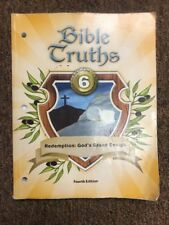 BJU Bible Truths 6 Student Worktext, 4th Edition Used Bob Jones