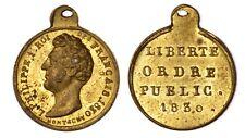 FRANCIA Louis Philippe Révolution de Juillet Liberté Ordre Public 1830 Montagny