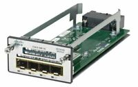 Used Cisco C3KX-NM-1G 1 G Network Module for Catalyst 3560-X/3750-X Switches