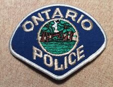CA Ontario California Police Patch (3.5In)