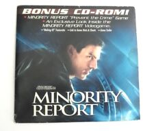Minority Report: Bonus CD (Activision, 2002) - Usually ships within 12 hours!!!