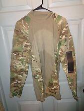 LARGE * US Army Combat Shirt ACS * Multicam OCP Camo MASSIF * NWT