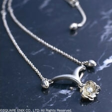 FINAL FANTASY X-2 Sterling SILVER NECKLACE Pendant YUNA licensed Japan RARE!!