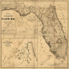 Province of Carolina c1711 map 18x24