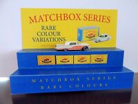 Matchbox Lesney / Display / Size  (7 1/2 in x 7 in)