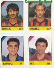 121 RIJKAARD - GAUDENZI - BONACINA - FUSI CARD CARTA CALCIO QUIZ VALLARDI 1991