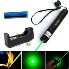 Cat Toy Green Laser Pointer 5mw 532nm Assassin Green Laser Pen + Battery+Charger