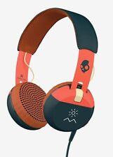 Skullcandy ill-famoso Grind Premium On-Ear Cuffie taptech controlla + microfono NUOVO CON SCATOLA