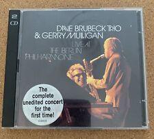 Dave Brubeck Trio & Gerry Mulligan - Live At The Berlin Philharmonie (2CD 1995)