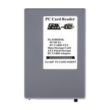 PCMCIA PC Card Adapter ATA Mass Storage Reader For 68p PC Card Instert PC To USB