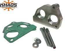 Khaos Motorsports Helix Bore Throttle Body Spacer 87-95 Chevy GMC 4.3L 5.0L 5.7L