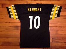 Vintage Pittsburg Steelers Jersey Kordell Stewart NFL 90s Football Champion M