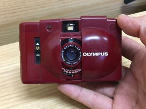 Near Mint Olympus XA2 RED 35mm Point & Shoot Film Camera From Japan #P3-90