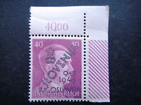 Germany Nazi 1941 1944 1945 Stamps MNH Adolf Hitler Overprint WWII Third Reich G
