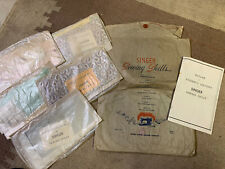 Vintage Singer Sewing Skills 6 Lesson Packet SINGER Sewing Machine Company.