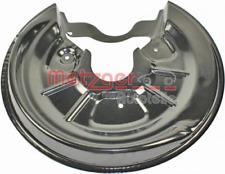 Spritzblech, Bremsscheibe für Bremsanlage Hinterachse METZGER 6115004