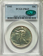 1941 50C PR65 PCGS CAC - Very Nice Trouble-Free Coin (1174)