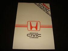 Manuali e istruzioni per auto Honda