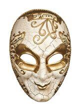 Masque façon Venise doré caractere décor craquelé partition de musique carnaval