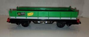 Vintage Playmobil Train Flat Car Green G-Gauge G-Scale