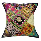 """Home Decor Pillow Kutch Embroidered Patchwork Cushion Cover Cotton Case 16"""""""