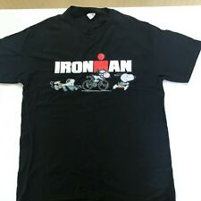 Black Ironman Short Sleeve T-Shirt with Snoopy Size L - New Other
