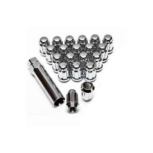 Enkei 12mm x 1.25 20pc Steel Lug Nut Set Spline driven with Spline Tool  12x1.25