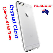 Ultra Slim Crystal CLEAR 0.3mm Soft Gel Case Cover for Apple iPhone 6 6S Plus 4