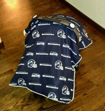 NEW NIP Seattle Seahawks Car Seat Canopy Cover Baby Infant Carseat Shade