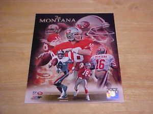 Joe Montana 49ers Portraits Plus LICENSED 8X10 Photo FREE SHIPPING 3/more