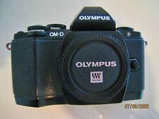 Olympus OM-D E-M10 16.1MP Digital SLR Camera - Black (Body Only) Good Condition