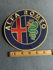 Alpha Romeo Large Patch A0