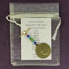RAT CHINESE ZODIAC CHARM Astrology Amulet Totem Sign Horoscope Lunar Year