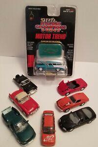Racing Champions Lot Of 8 Nomad Corvettes Thunderbird Camaro F-150 Jetta