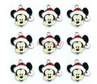 20pcs Mickey Metal Charm Pendant Diy Necklace Jewelry Making