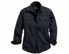 New listing Harley-Davidson® Women's Applique Plaid Flannel Relaxed Fit Shirt 99035-18VW