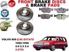 Pour Volvo 850 Ls Break 1992-1997 Frein Avant Disques Set + Plaquettes de Kit