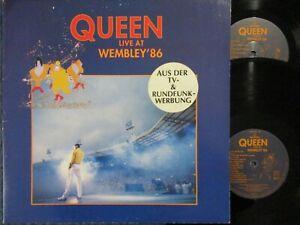 QUEEN Live At Wembley '86 / DLP EEC 1992 EMI PARLOPHONE 0777 7 99594-1 9