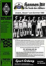 BL 80/81 Borussia Mönchengladbach - FC Schalke 04, 19.08.1980