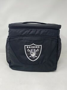 Las Vegas Raiders 24 Can Cooler NFL Cookout BBQ Drink Ice Lunch Tailgate