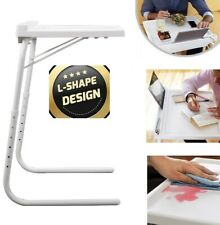 Table Mate Express Adjustable Folding Table Tv Laptop Desk Sofa Bed Spill Proof