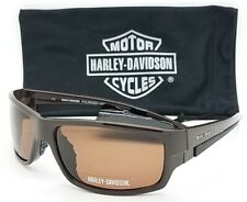 NEW Harley Davidson Men's Sport Wrap Sunglasses HDS606 BRN-1 AUTHENTIC HD
