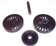 Hornby 00/Triang Britannia Drive Wheels T3 (23mm).+Worm(40).+axle.