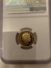 More details for 2006 proof half sovereign graded ngc pf69 22ct gold pr69 / pf69 royal mint 3.98g