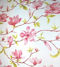"Magnolia Flower Tissue Paper # 305 ..10 large sheets - 20"" x 30""  -  Floral"