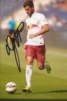 RED BULL SALZBURG: MARCO DJURICIN SIGNED 6x4 ACTION PHOTO+COA